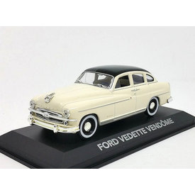Atlas | Model car Ford Vendome (Vedette) 1954 cream/black 1:43