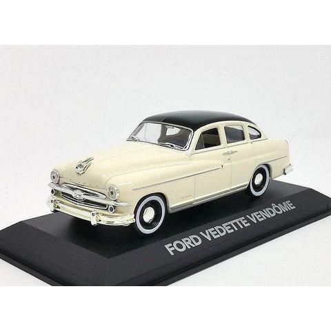 Ford Vendome (Vedette) 1954 creme/schwarz - Modellauto 1:43