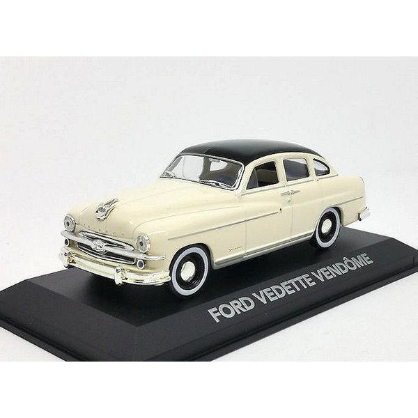 Model car Ford Vendome (Vedette) 1954 cream/black 1:43