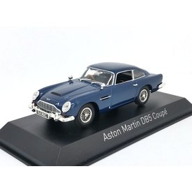Norev Aston Martin DB5 Coupe 1964 donkerblauw - Modelauto 1:43