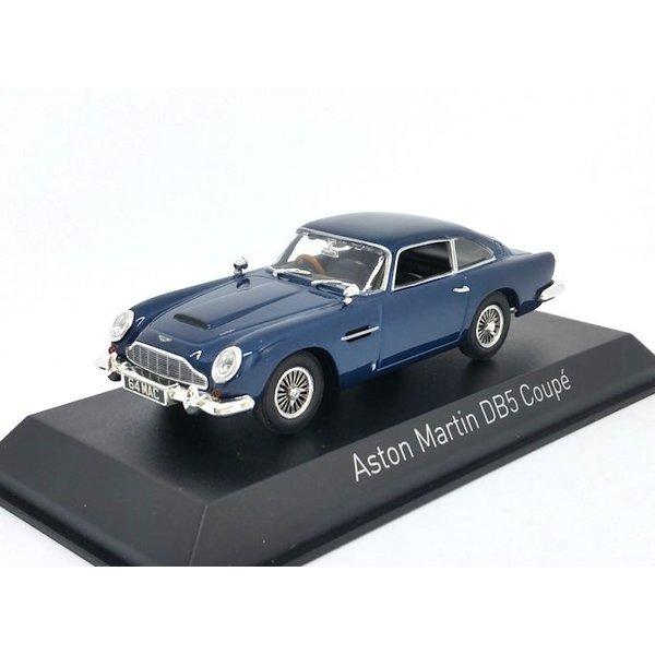 Model car Aston Martin DB5 Coupe 1964 night blue 1:43