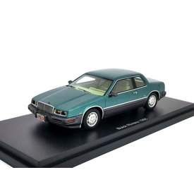 BoS Models Buick Riviera 1988 green metallic - Model car 1:43
