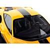 Modelauto Ferrari 488 Pista geel 1:18