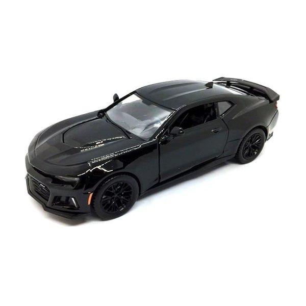 Model car Chevrolet Camaro ZL1 2017 black 1:24