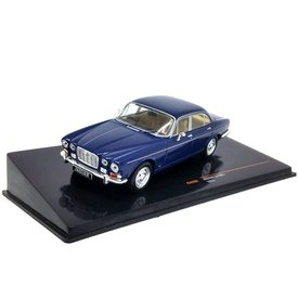 Ixo Models Jaguar XJ Mk I 1972 dark blue - Model car 1:43