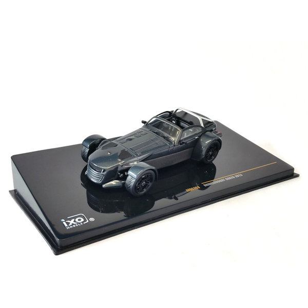Model car Donkervoort B8 GTO 2013 grey metallic 1:43