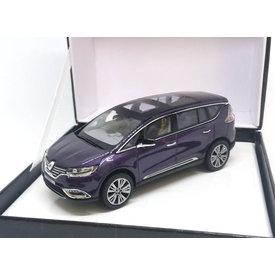 Norev Renault Espace Initiale Paris 2014 amethist - Modelauto 1:43