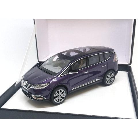 Renault Espace Initiale Paris 2014 amethist - Modelauto 1:43