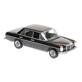 Maxichamps Mercedes Benz 200 (W115) 1968 black - Model car 1:43