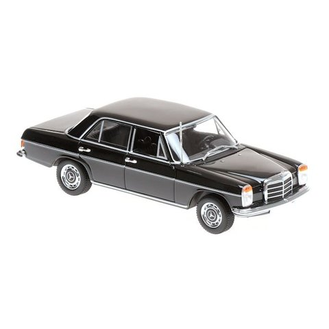 Mercedes Benz 200 (W115) 1968 black - Model car 1:43