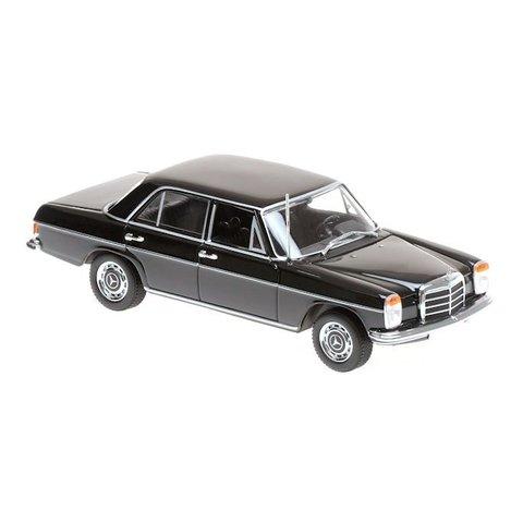 Mercedes Benz 200 (W115) 1968 zwart - Modelauto 1:43