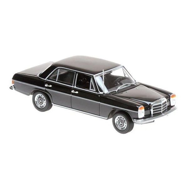 Modelauto Mercedes Benz 200 (W115) 1968 zwart 1:43