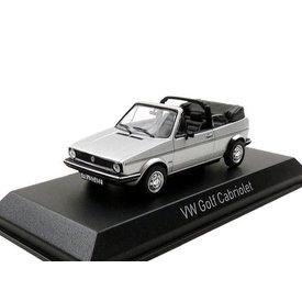 Norev Volkswagen VW Golf Cabriolet 1981 silver - Model car 1:43