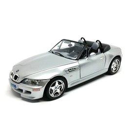 Bburago BMW M Roadster 1998 zilver - Modelauto 1:18