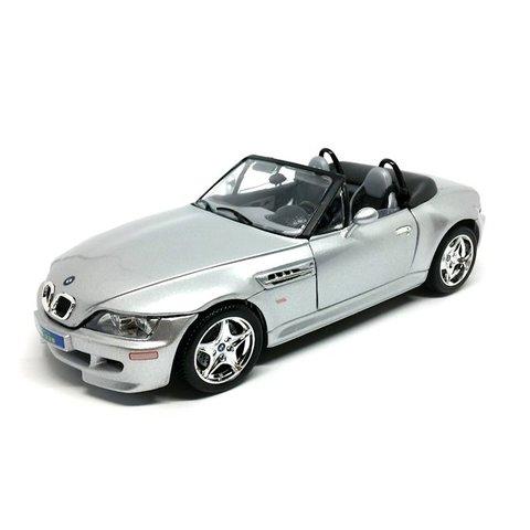 BMW M Roadster 1998 zilver - Modelauto 1:18