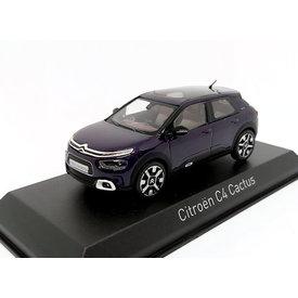 Norev Citroën C4 Cactus 2018 deep purple 1:43 - Model car 1:43