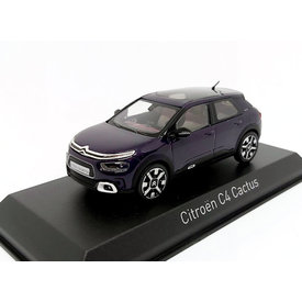 Norev Citroën C4 Cactus 2018 donkerpaars 1:43 - Modelauto 1:43
