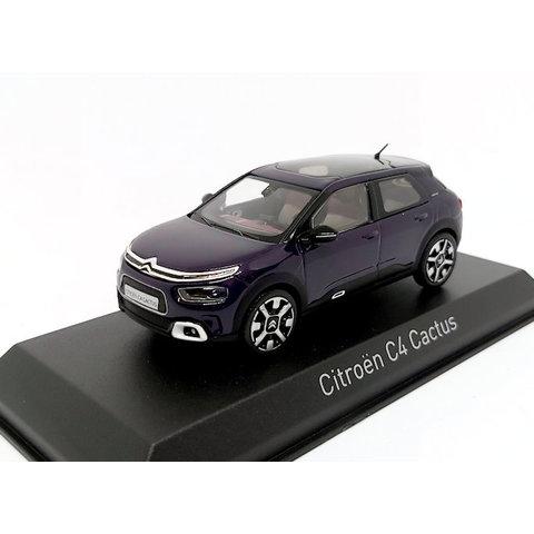 Citroën C4 Cactus 2018 donkerpaars 1:43 - Modelauto 1:43