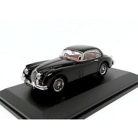 Oxford Diecast Jaguar XK150 zwart - Modelauto 1:43