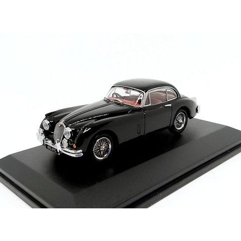 Jaguar XK150 zwart - Modelauto 1:43