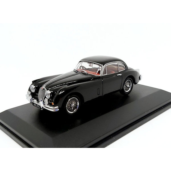 Modelauto Jaguar XK150 zwart 1:43   Oxford Diecast