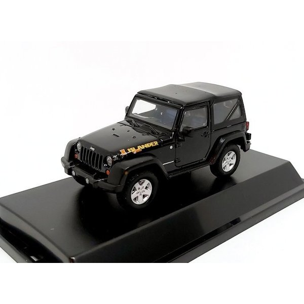 Model car Jeep Wrangler Islander Edition 2010 black 1:43