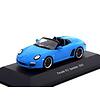 Model car Porsche 911 Speedster (997) 2010 bright blue 1:43