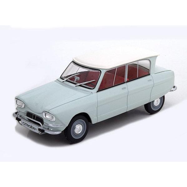 Model car Citroën Ami 6 1961 bright green 1:24