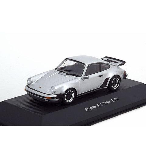Porsche 911 Turbo (930) 1975 zilver - Modelauto 1:43