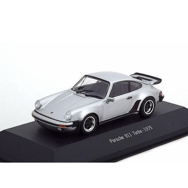 Modellauto Porsche 911 Turbo (930) 1975 silber  1:43