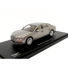 Kyosho Bentley Flying Spur W12 pearl silver - Modelauto 1:43