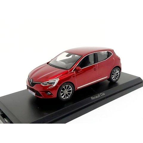 Renault Clio 2019 red metallic - Model car 1:43