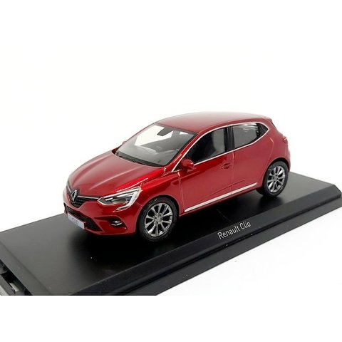 Renault Clio 2019 rood metallic - Modelauto 1:43