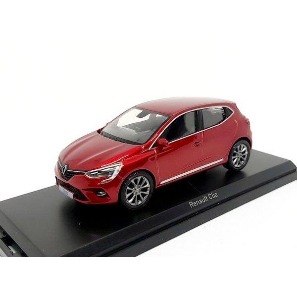 Modelauto Renault Clio 2019 rood metallic 1:43