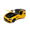 Model car Mercedes Benz AMG GT R yellow 1:24 | Welly