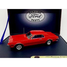 Motorhead Miniatures Mercury Cougar 1968 Kardinalrot - Modellauto 1:43