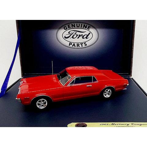 Mercury Cougar 1968 kardinaalrood - Modelauto 1:43