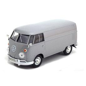 Motormax Volkswagen T1 type 2 Transporter zilver - Modelauto 1:24
