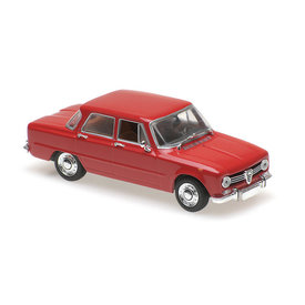 Maxichamps Alfa Romeo Giulia 1600 1970 red - Model car 1:43