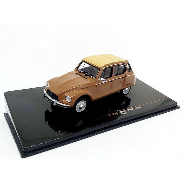Model car Citroën Dyane Nazare 1982 brown/beige 1:43