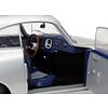 Model car Porsche 356 Pre A 1953 silver 1:18