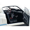Modellauto Shelby Ford Mustang GT500 1967 weiß/blau 1:18