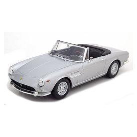 KK-Scale Ferrari 275 GTS Pininfarina Spyder 1964 zilver - Modelauto 1:18