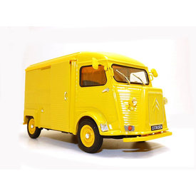 Welly Citroën Type H 1962 yellow - Model car 1:24
