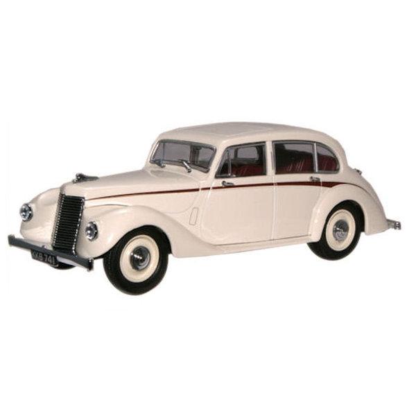 Model car Armstrong Siddeley Lancaster ivory 1:43 | Oxford Diecast