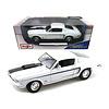 Modelauto Ford Mustang GT Cobra Jet 1968 wit 1:18