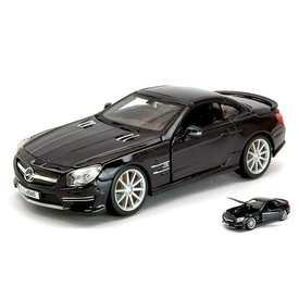 Bburago Mercedes Benz SL 65 AMG Hardtop black - Model car 1:24