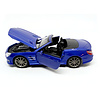 Model car Mercedes Benz SL 63 AMG blue 1:24
