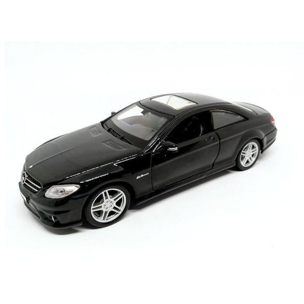 Model car Mercedes Benz CL 63 AMG black 1:24