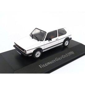 Volkswagen VW Golf GTI 1976 wit - Modelauto 1:43